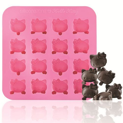 Pink Hello Kitty Silicone Chocolate Mold Hello Kitty Cupcakes Hello Kitty Themes Pink Hello Kitty