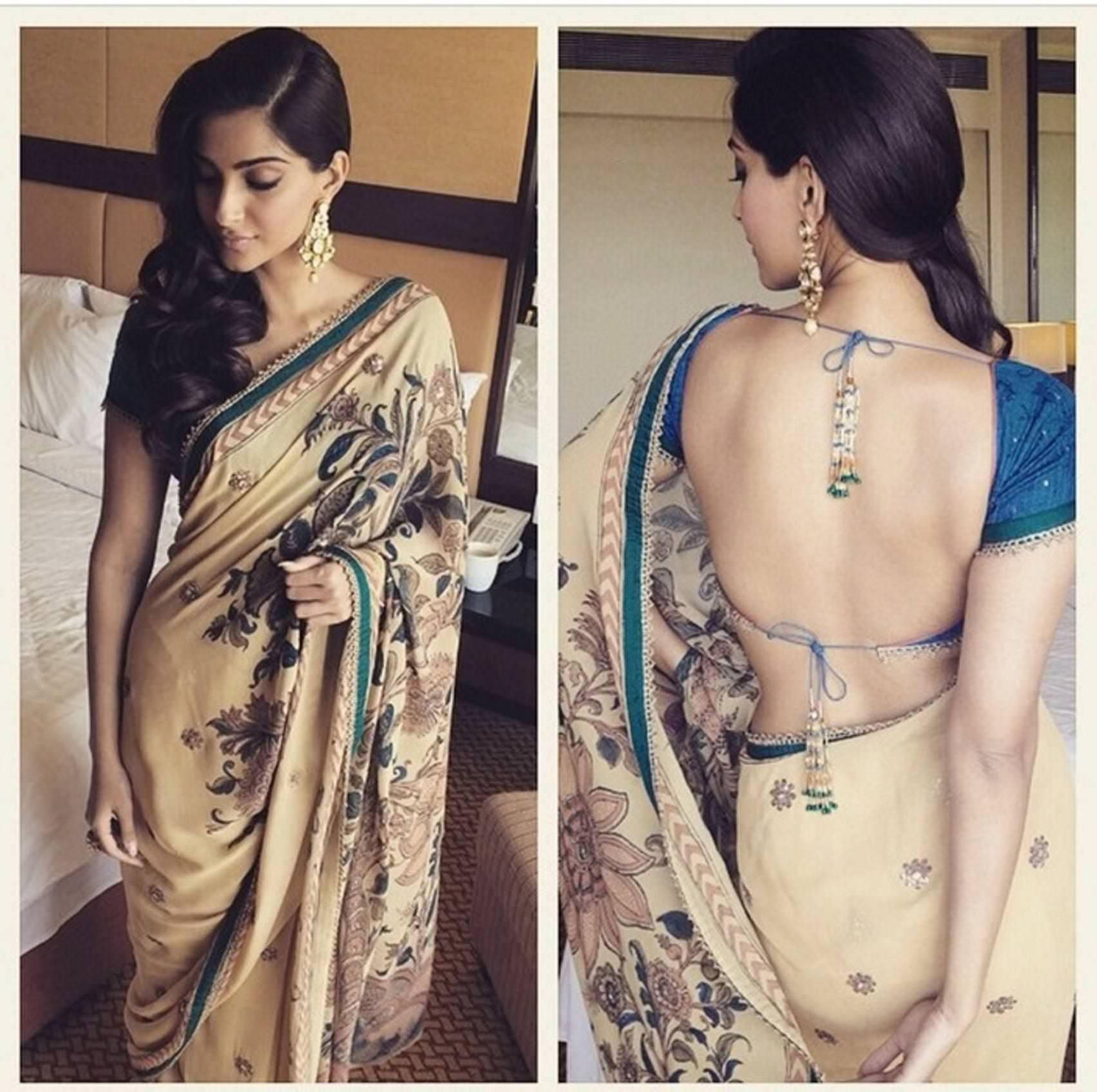 Sonam kapoor in sexy saree