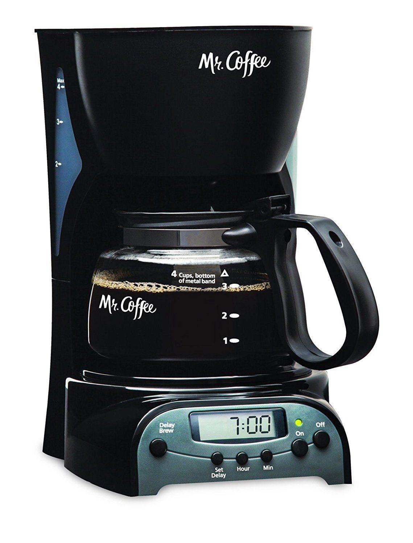 Mr. Coffee 4Cup Programmable Coffeemaker