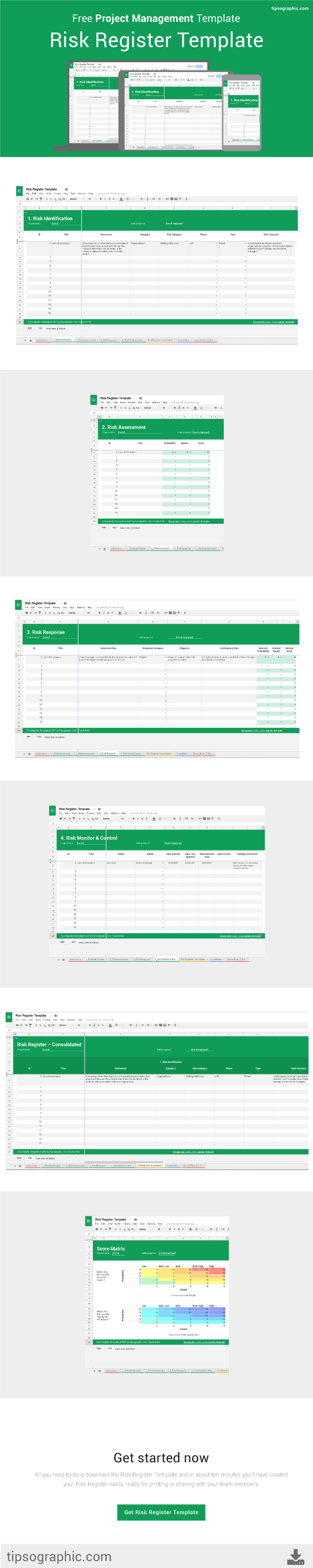 Risk register template for excel google sheets and libreoffice this template is designed to help you track information about identified risks over the course of accmission Gallery