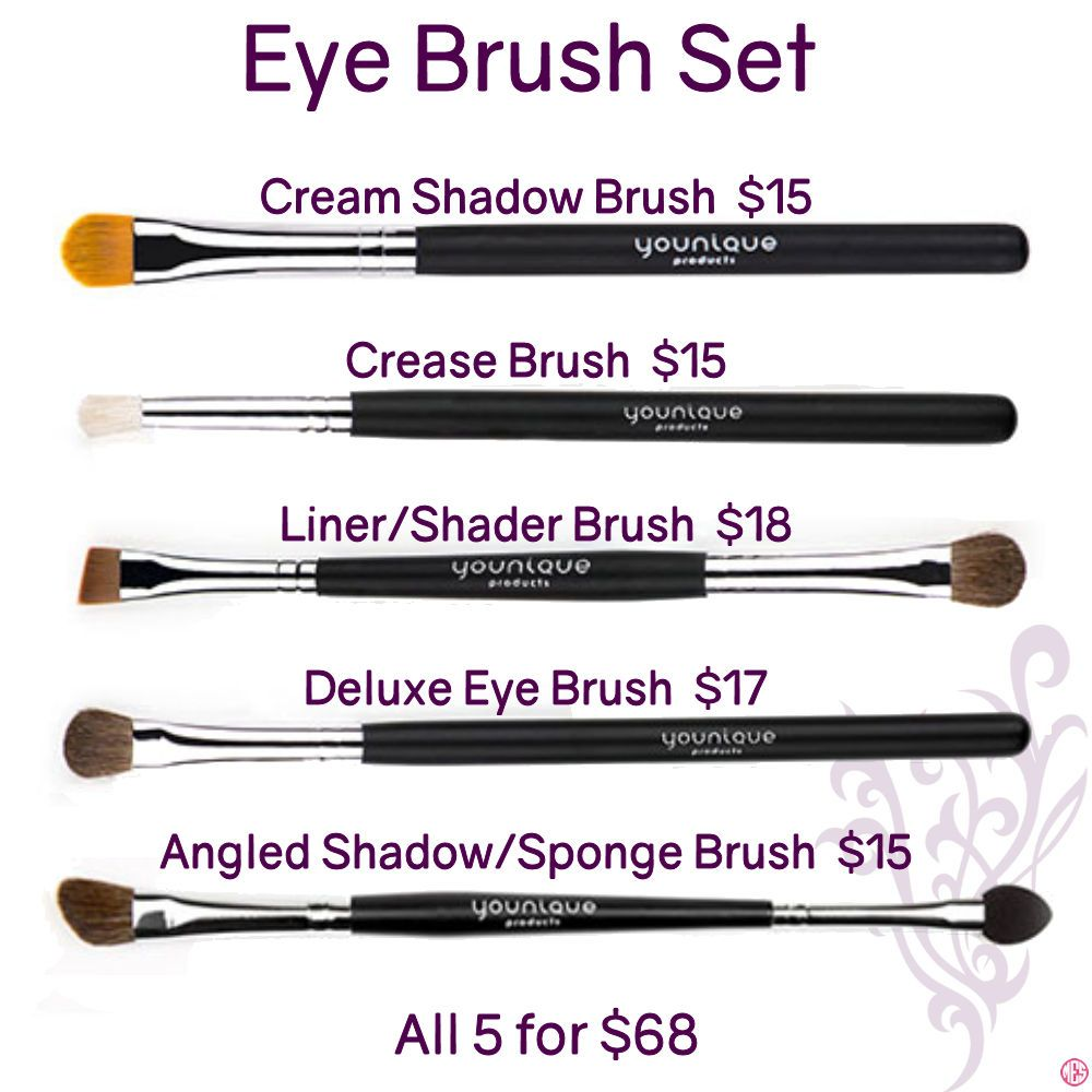 Eye Brush Set By Younique Click To Order Want More