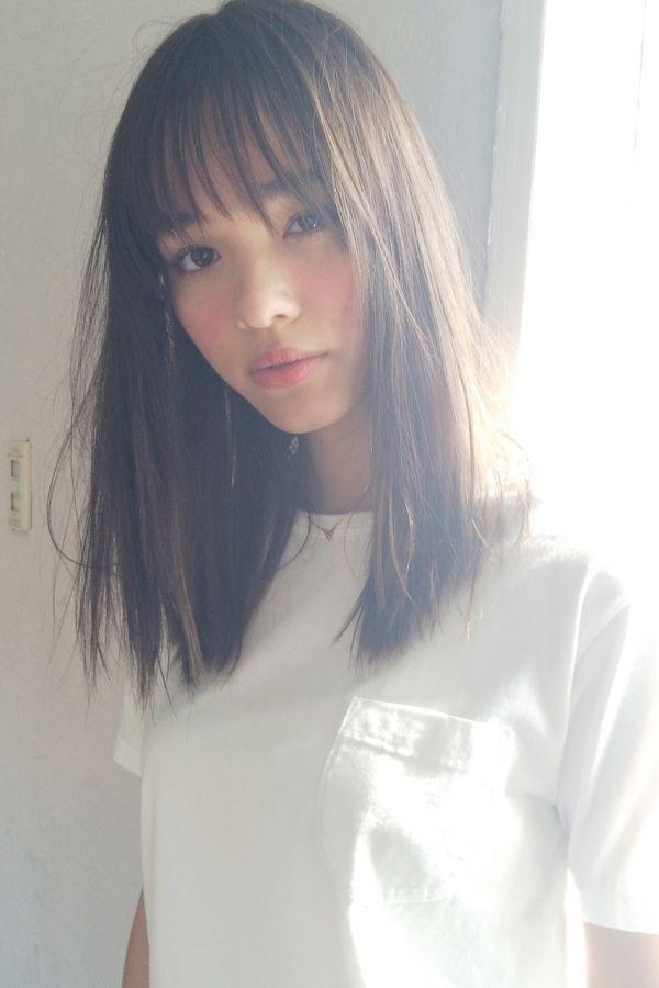 かわいい黒髪がイマドキ風 好感度高めな大人髪型スタイル Hair