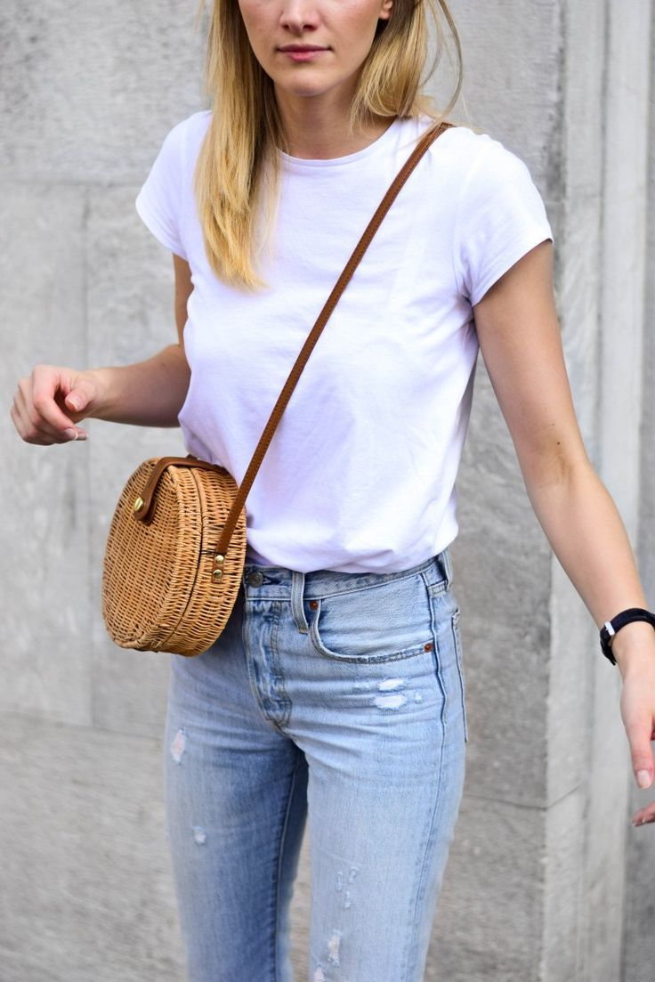 why straw bag is a must have this season; katiquette fashion blogger