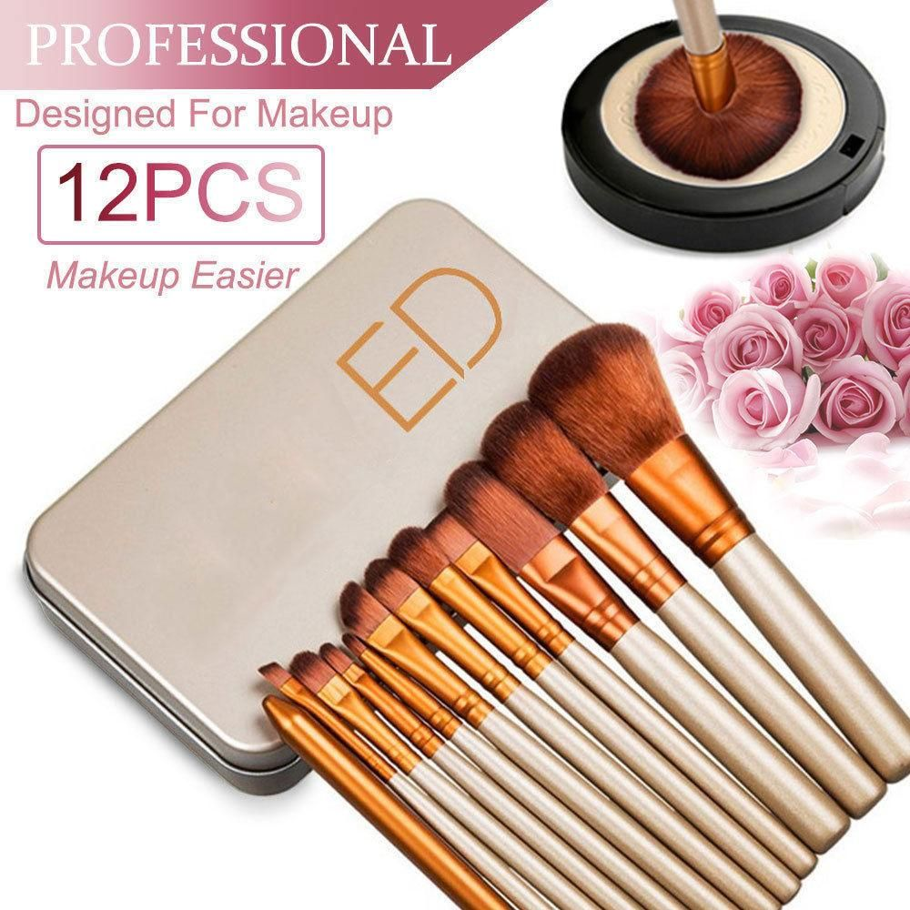 KABUKI PROFESSIONAL 12Pcs Make up Brushes Set Powder