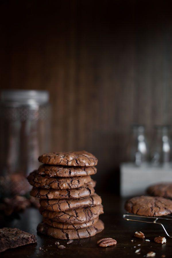 Magdalena Hendey Dark Chocolate and Pecan Cookies