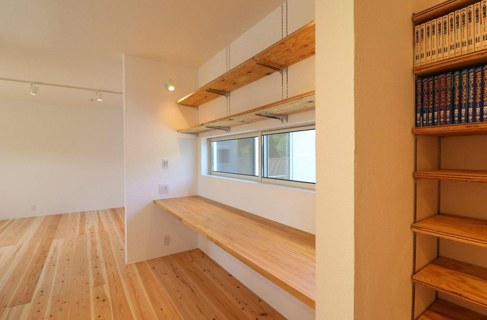シンプルながら細部にこだわった2世帯の家 尾道市 二世帯住宅 321house