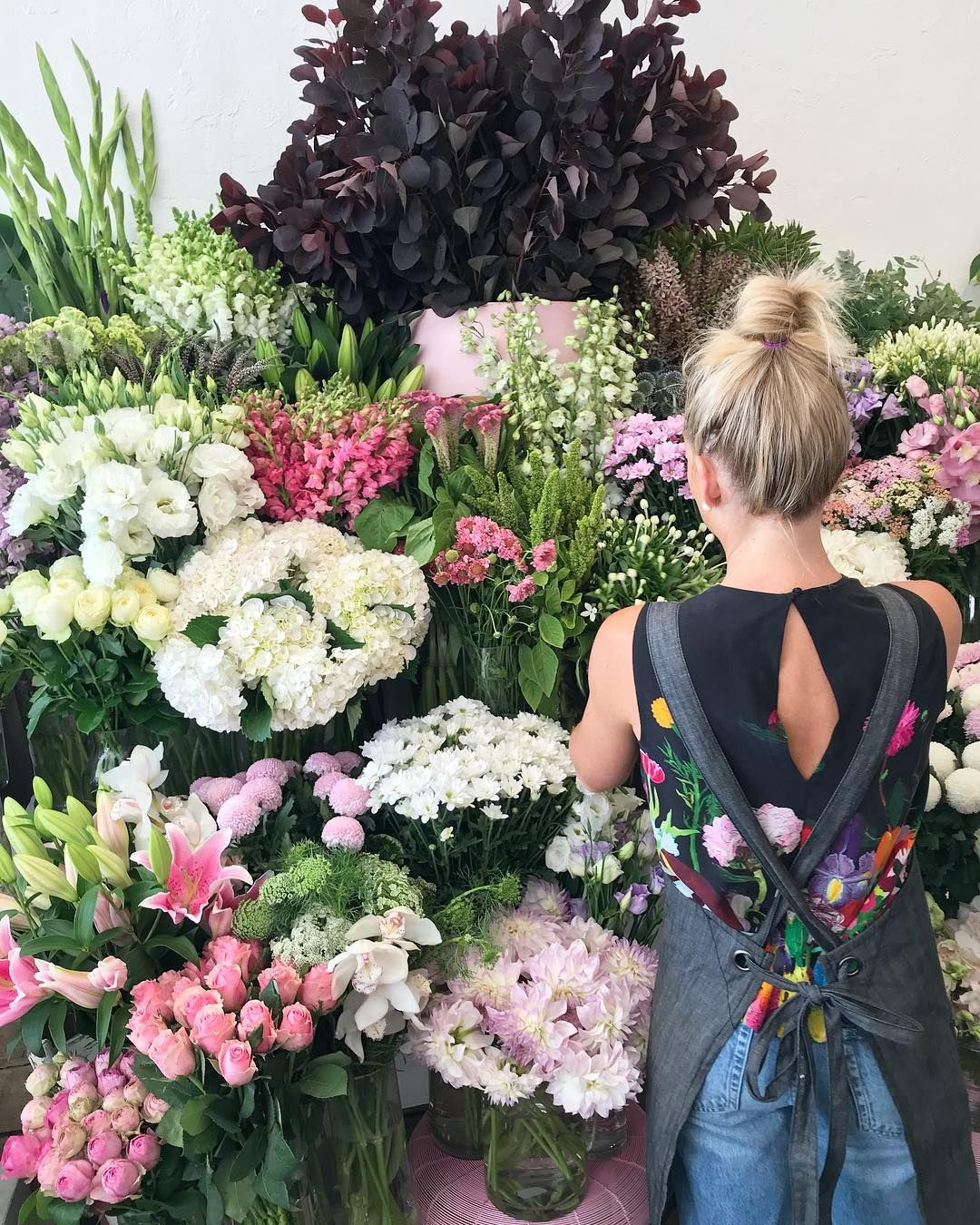 Flower Bowl Florist Geelong Wearing Cargo Crew Adelaide
