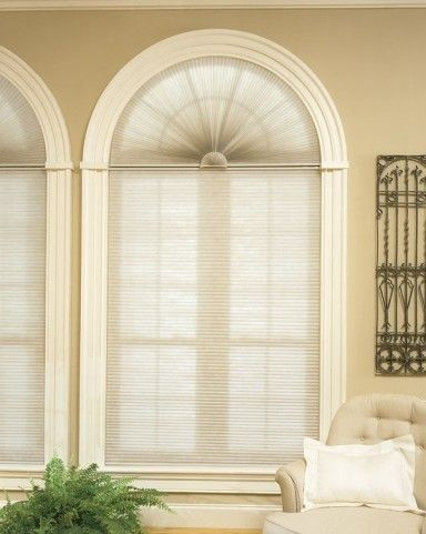 Blinds for circle top windows home premium blackout for Best blackout window treatments