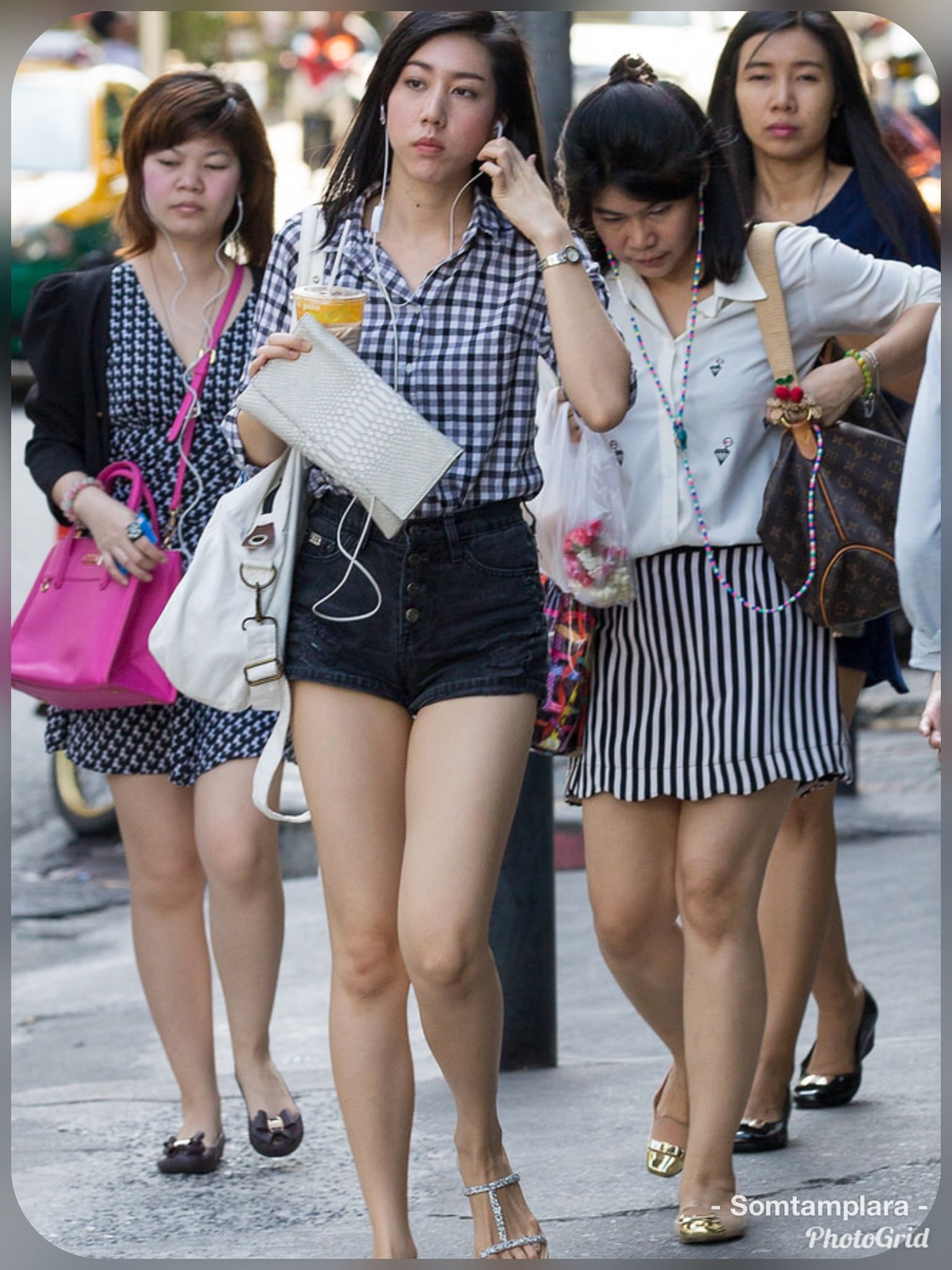 Simply excellent Asian candid leg