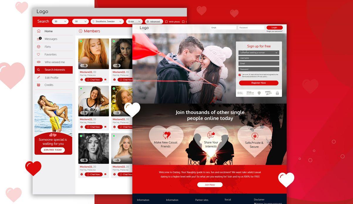 dating website developers