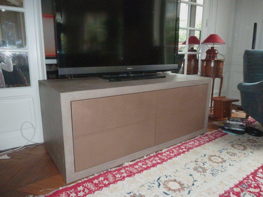 Interieur Exterieur Meuble Tv Meuble Tv Meuble Tv Beton Meuble