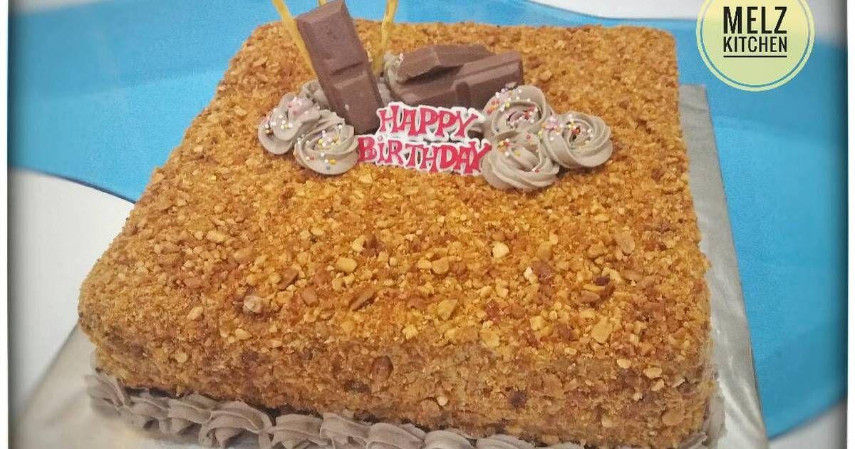 Resep Mocca Nougat Cake Oleh Melz Kitchen Resep Makanan Manis Kue Lezat Resep