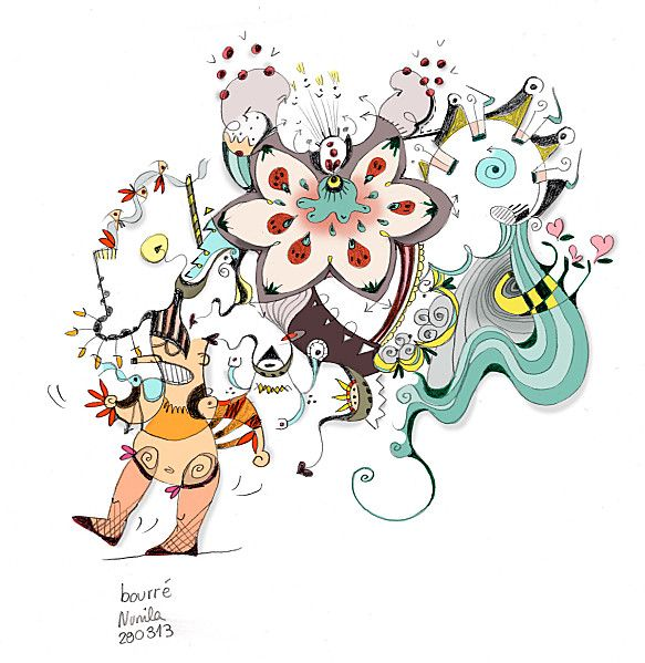 Bourré - Drunk - illustration