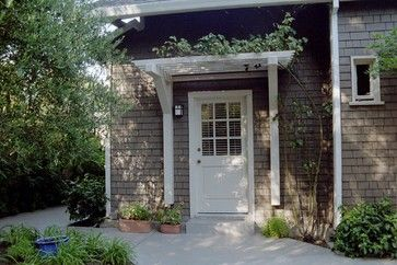 It S Official We Are The Slowest Home Renovators On The Planet I Generate Fun Home Improvement Ideas At A Light House Exterior Door Pergola Exterior Design