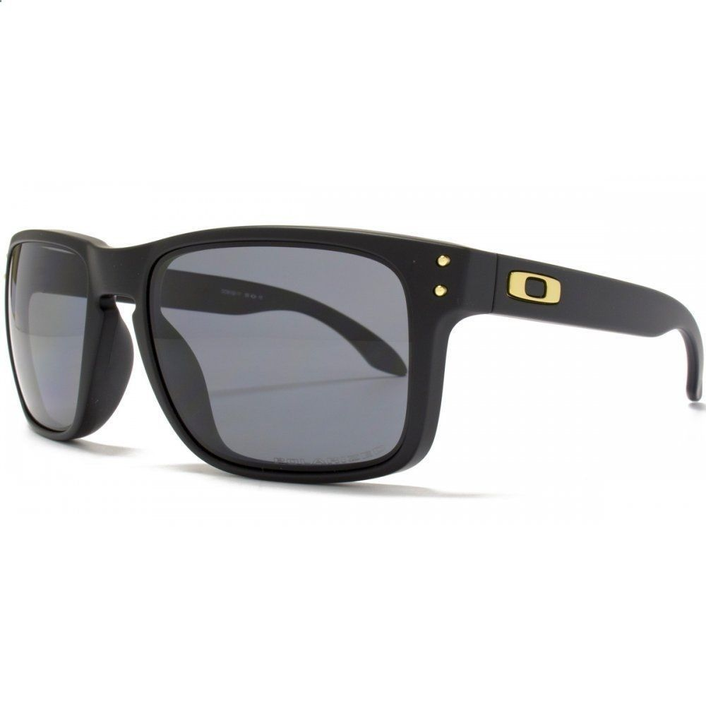 8019a098c14 ... where to buy new oakley sunglasses holbrook matte black grey polarized  shaun white oo9102 17 da2ac