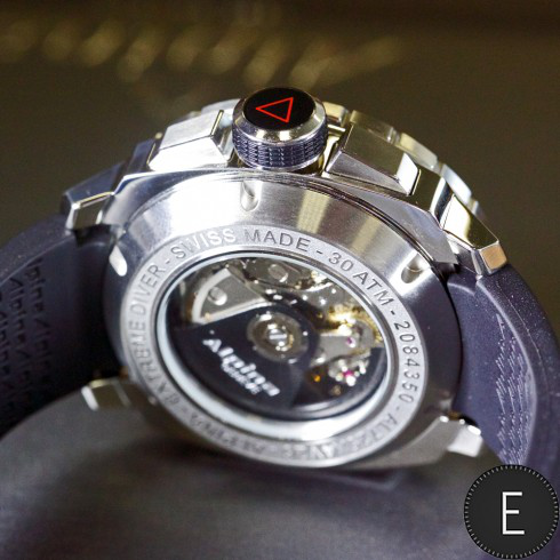 Escapement Watch Review: The Alpina Extreme Diver 300 Chronograph ...