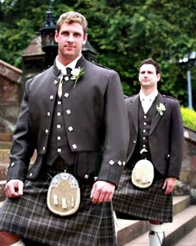 Pin By Brandon Mcinnis On Scottish Wedding Men In Kilts Father Of The Bride Outfit Kilt Outfits
