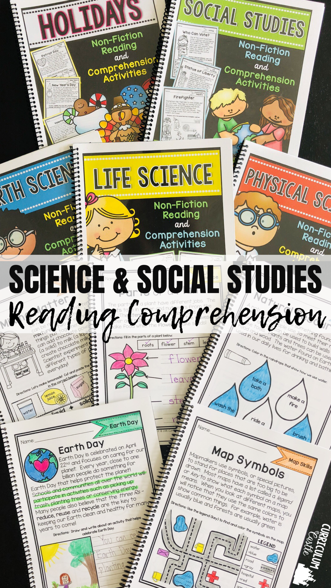 Reading Comprehension Mega Bundle Science Amp Social