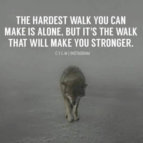 Quotes About Being Strong Alone Inspiring Quotes