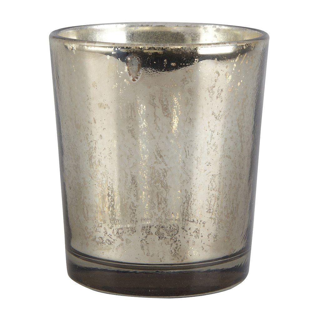 Ashland Mercury Glass Candle Holders