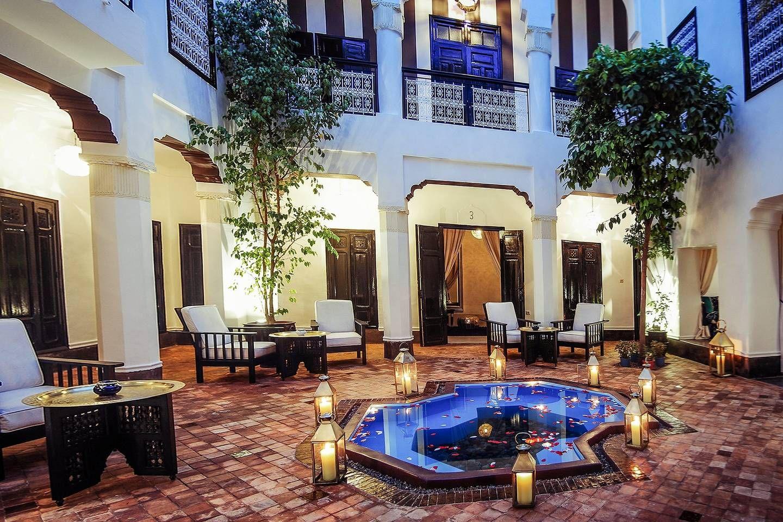 Spacieuse villa avec piscine wifi villas louer - Location maison avec piscine marrakech ...