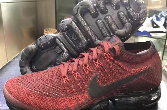 Release Info For This Nike Air VaporMax Dark Team Rouge SHOE GAME