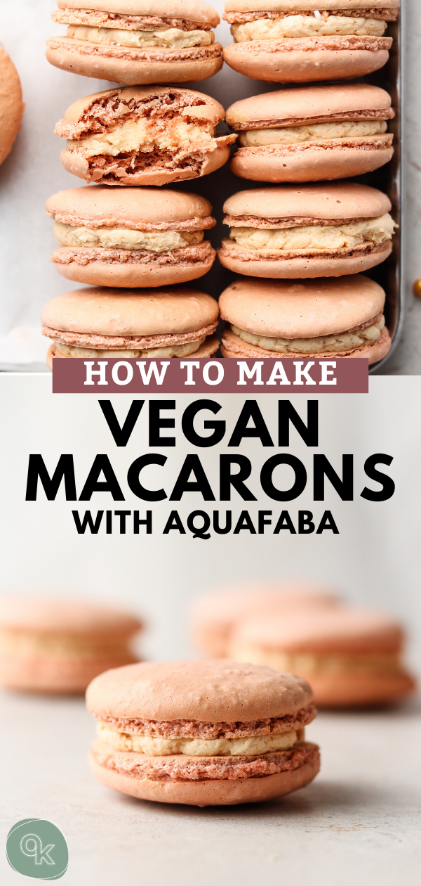 Photo of How to Make Vegan Macarons (Aquafaba Recipe)