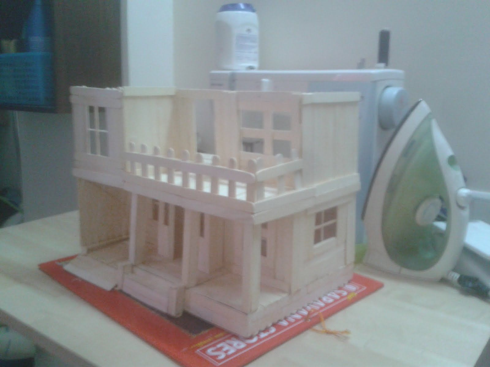 Make a model house school project house style pinterest models
