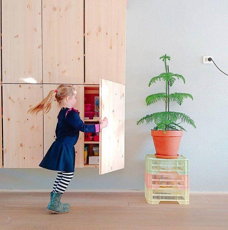 IKEA IVAR Hack Das Holzregal im Kinderzimmer Kinder