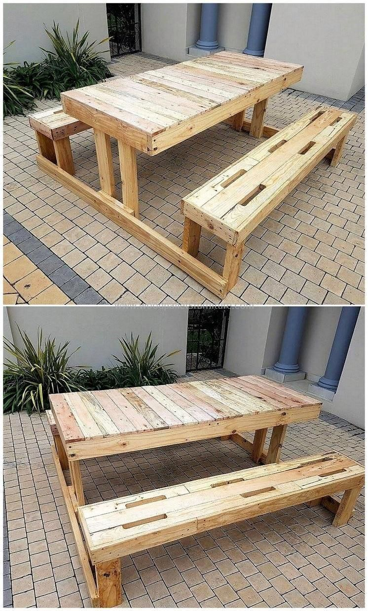 Home made pallet office funiture ideas and ways to keep ...
