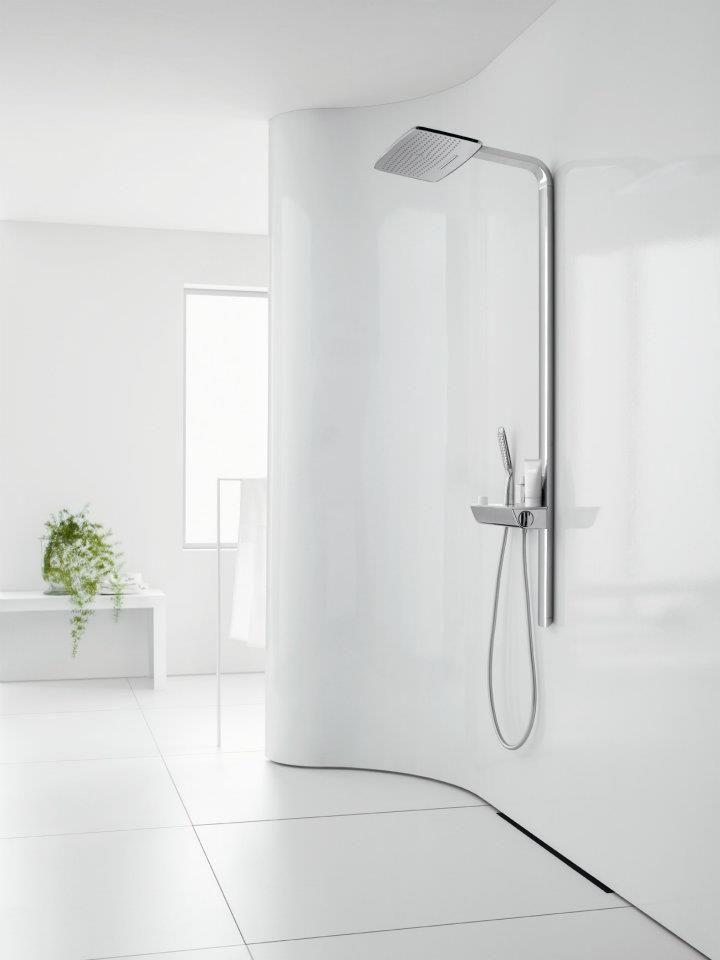 Avantgarde design: #Hansgrohe #Raindance Showerpipe   Design ...