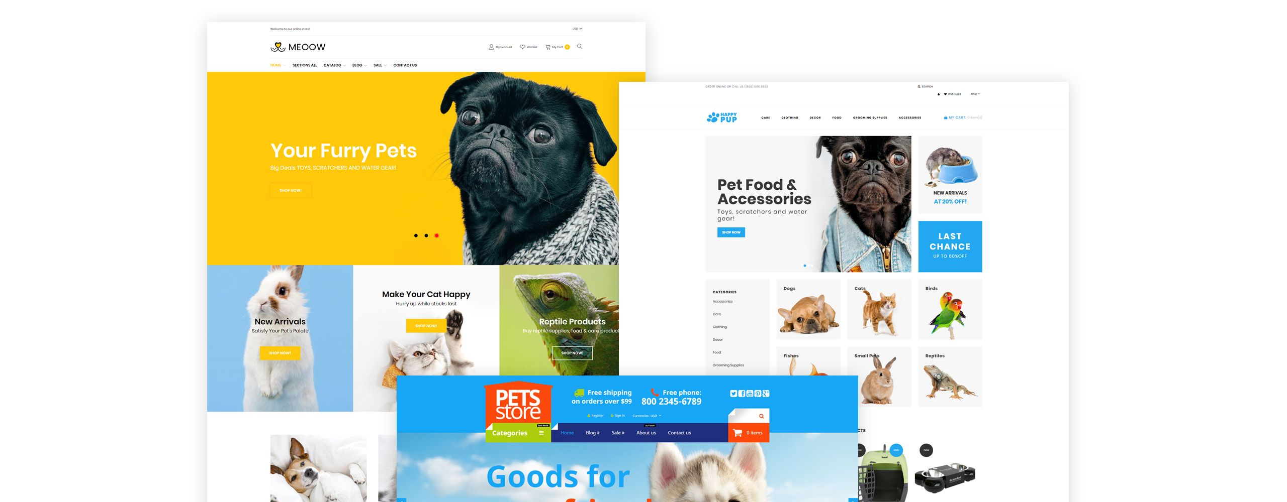 Medow Pet Food Dog And Cat Store Shopify Theme 78223 Food