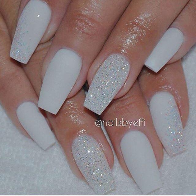 Matte white | NAiLS I ❤ | Pinterest | Makeup, Nail nail and ...