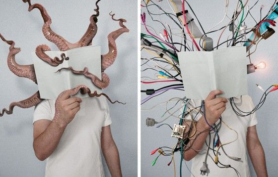 'The Power of Books' van Fotograaf Mladen Penev.