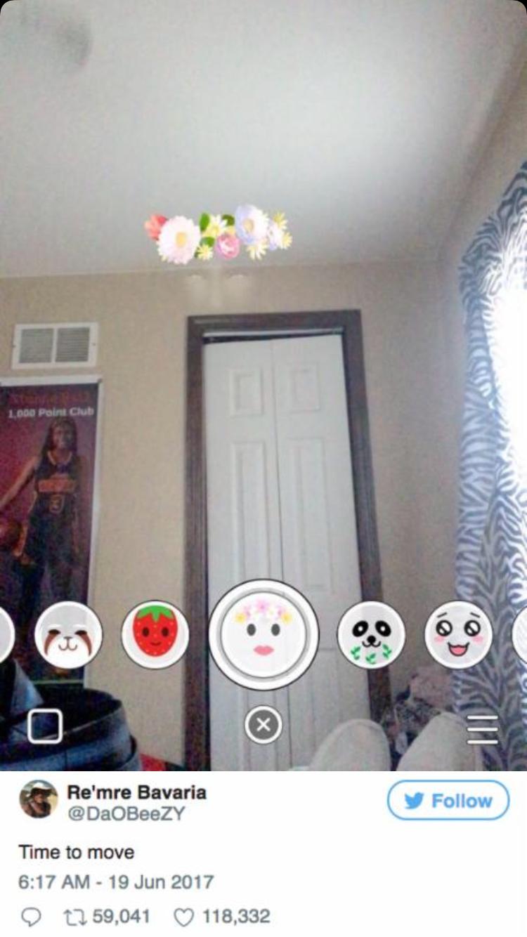 I got so scared that I always shut Snapchat down when I accidentally