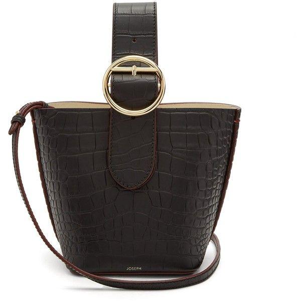 Joseph Sevres Crocodile Effect Buckle Handle Leather Bag 5 015 Cny Liked