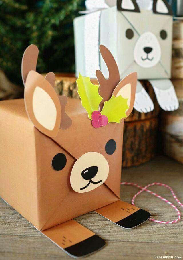Envoltura de regalos muy originales **Navidad** Pinterest - envoltura de regalos originales