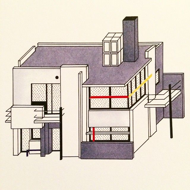 Design For Today A House Filled With Light The Schroder Schroder House Architecture Drawing Bauhaus Design