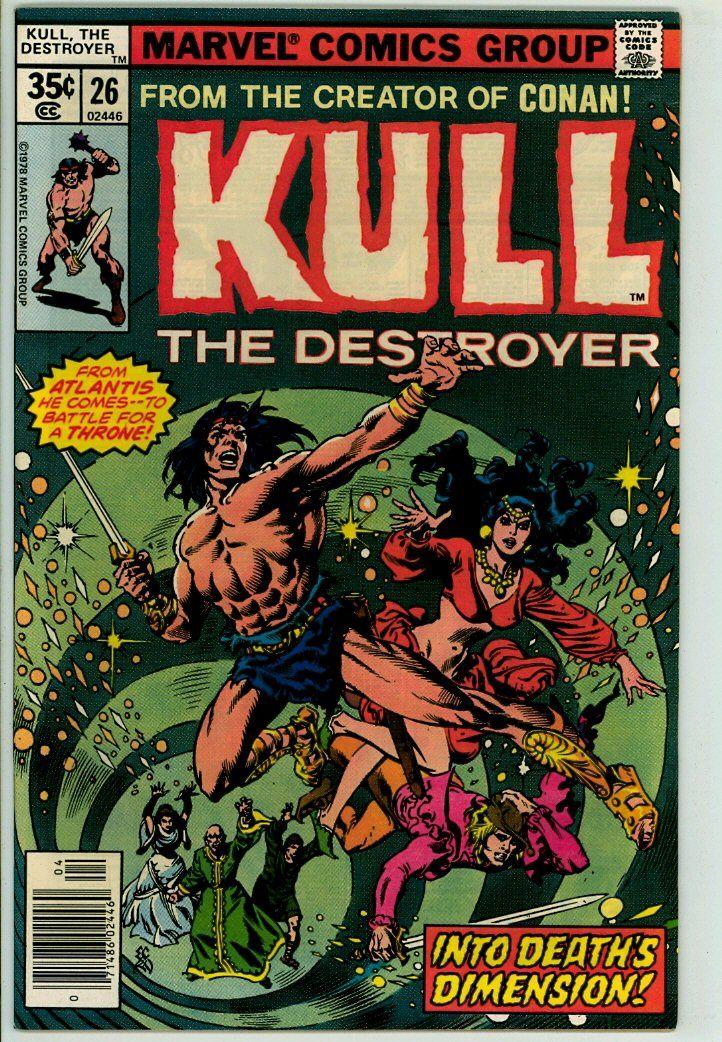 Kull the Destroyer 26 (FN/VF 7.0)