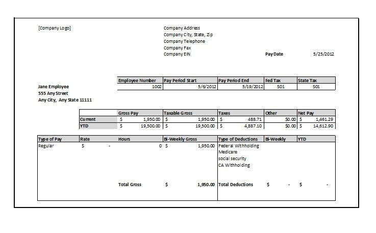 Pin by Becca Sargent on Payroll template in 2020 Payroll