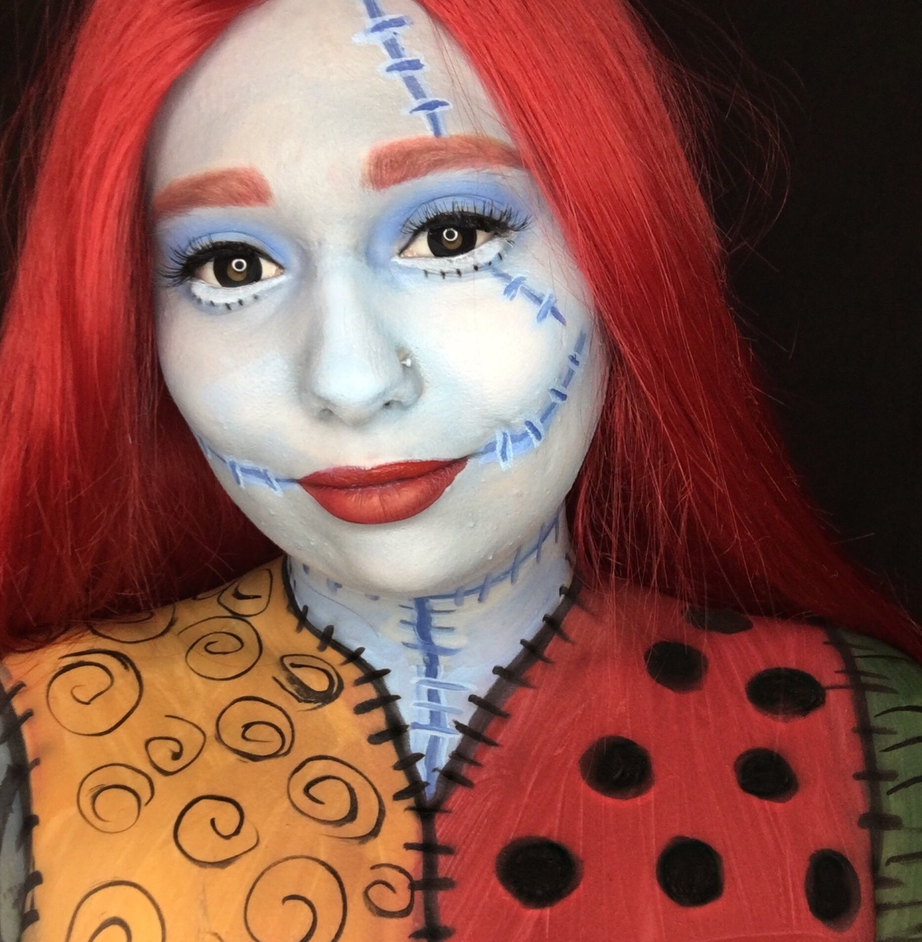 Pin by Camry on Makeup looks Nightmare before christmas