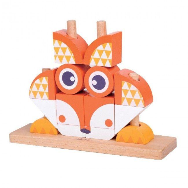 flippy fox construction en bois multilingue castello. Black Bedroom Furniture Sets. Home Design Ideas