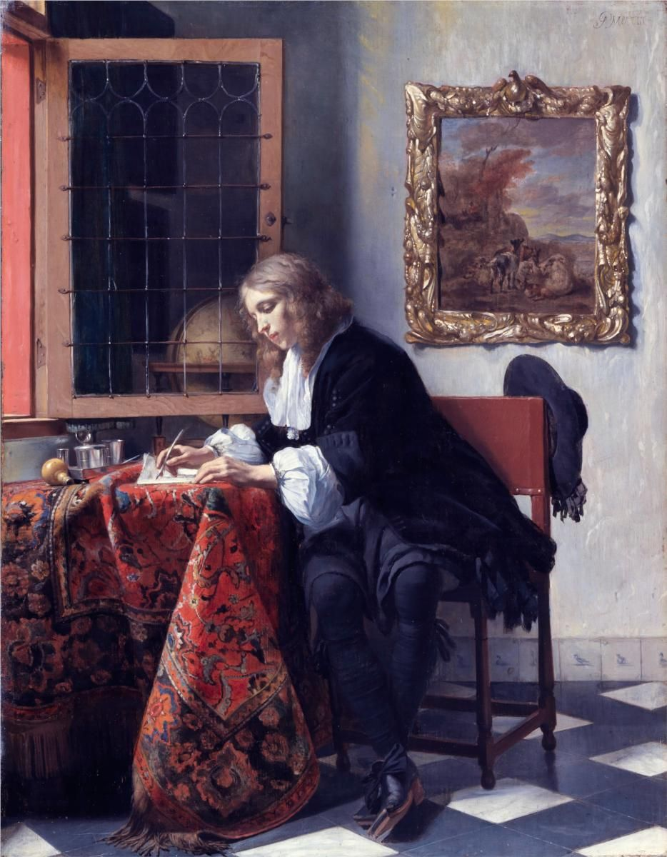 a report on the painting a girl receiving a letter by gabriel metsu in the timken museum of art The painting a girl receiving a letter by gabriel  a report on the painting a girl receiving a letter by gabriel metsu in the timken museum of art.