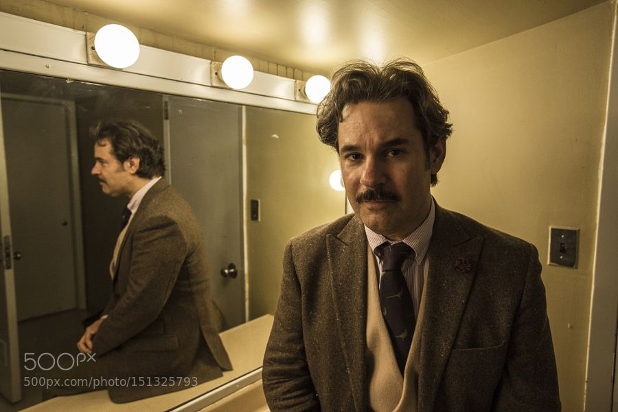 Comedian Paul F. Tompkins backstage at JFL42 2014 by mikemeehanphoto Celebrity Photography #InfluentialLime