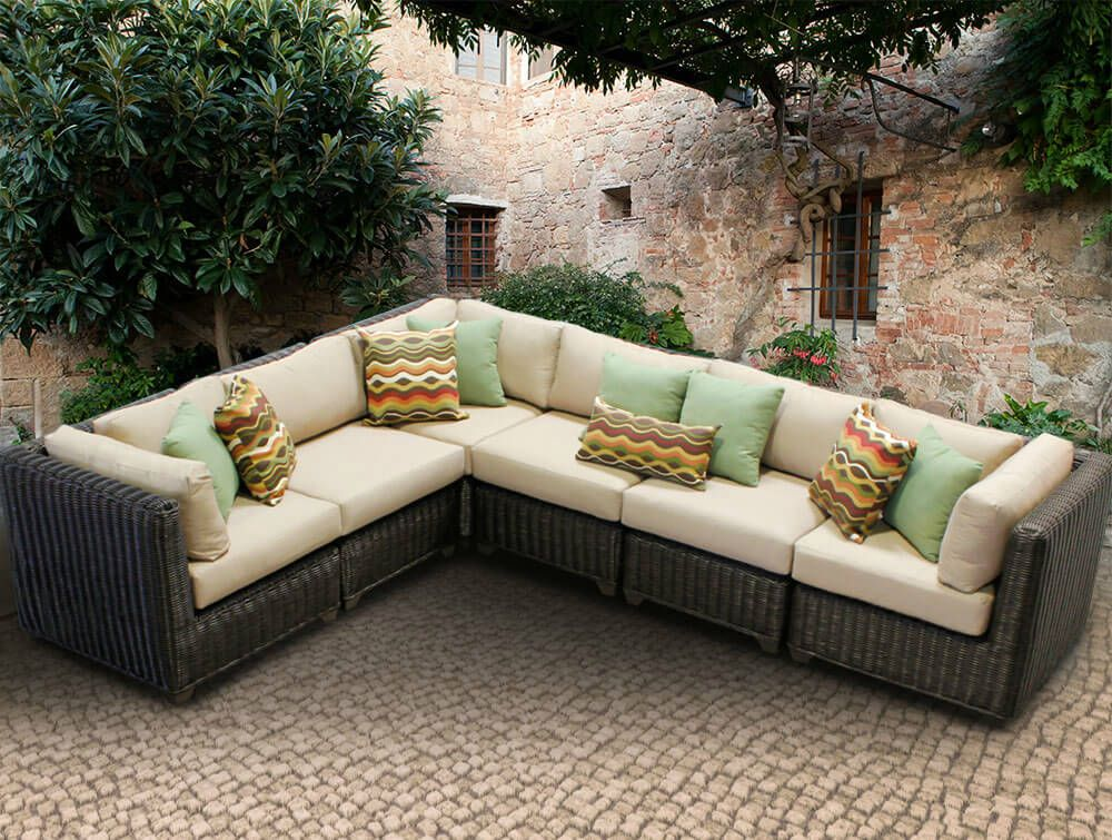 Charmant Awesome L Shaped Patio Couch , Trend L Shaped Patio Couch 96 With  Additional Sofa Room Ideas With L Shaped Patio Couch ...