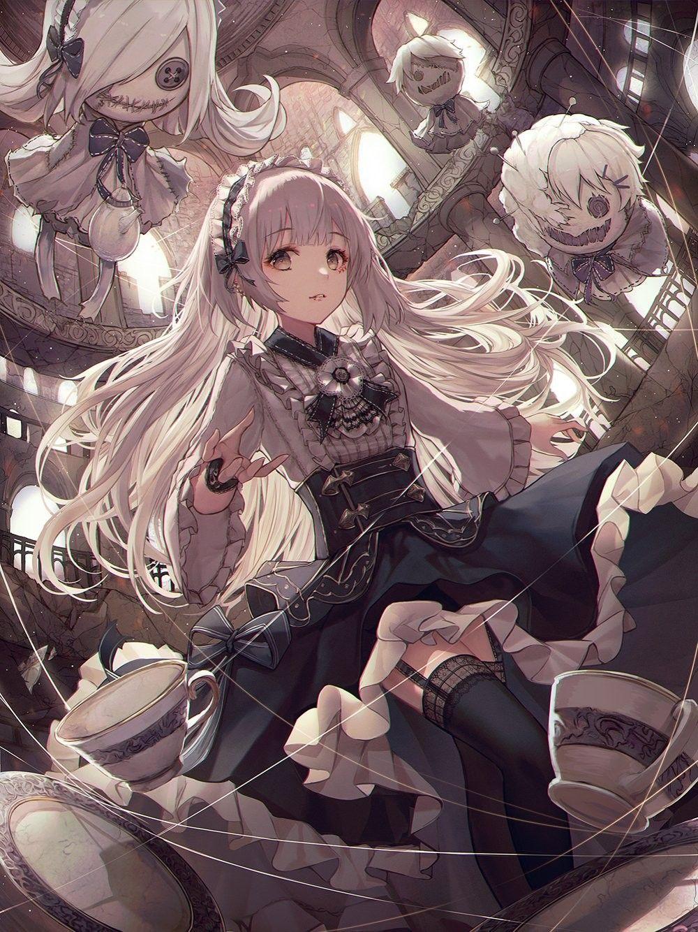 Photo of Gothic Anime Wallpaper