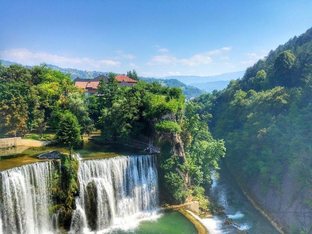 Jajce, Bosnia and Herzegovina. Beautiful country, amazing