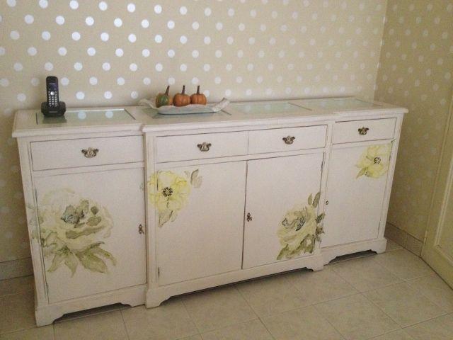 Muebles pintados nuestros trabajos 2013 pinterest for Muebles cantero