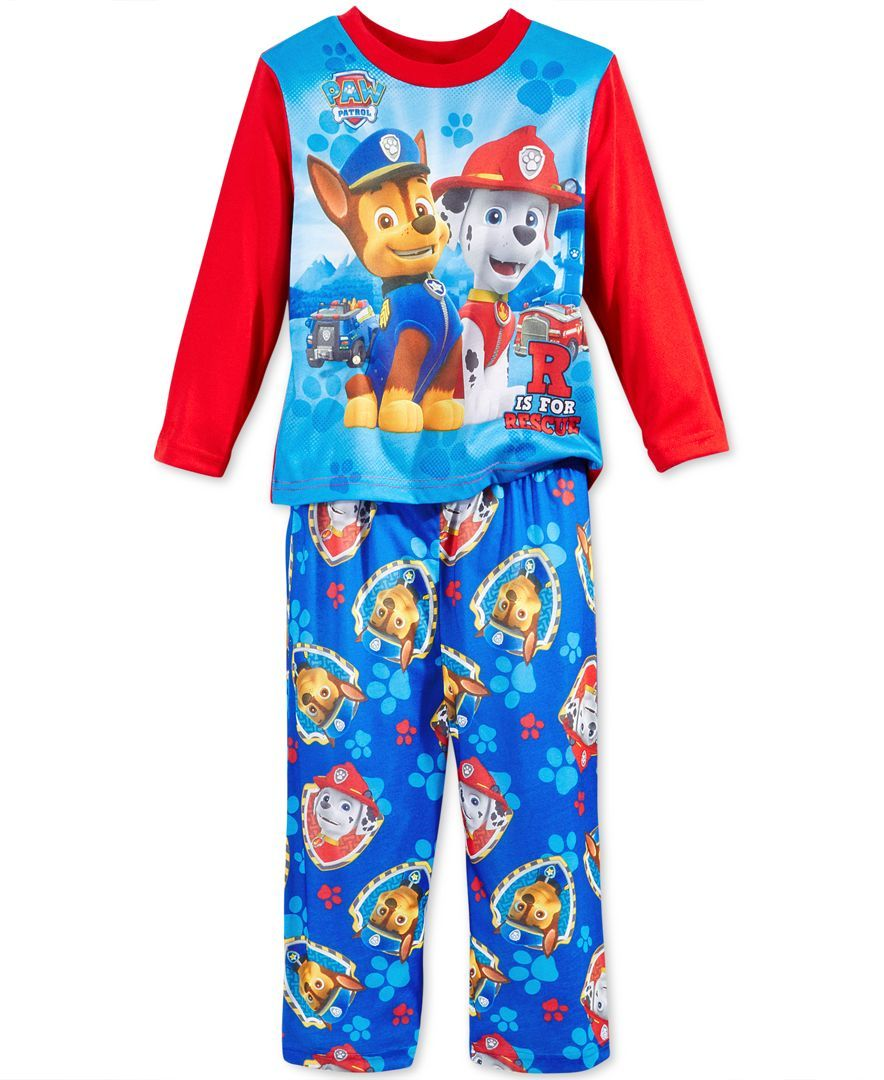 7cb6d2b0f Ame Little Boys  Paw Patrol Rescue 2-Piece Pajamas