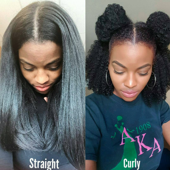 styling straightened natural hair naturallynella hair inspiration in 2019 5426 | 3eab2e5f73dc0aa68b3366f13fe4cf26